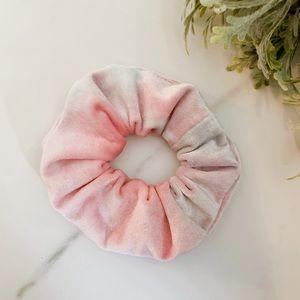 Accessories - New Pink velvet scrunchie